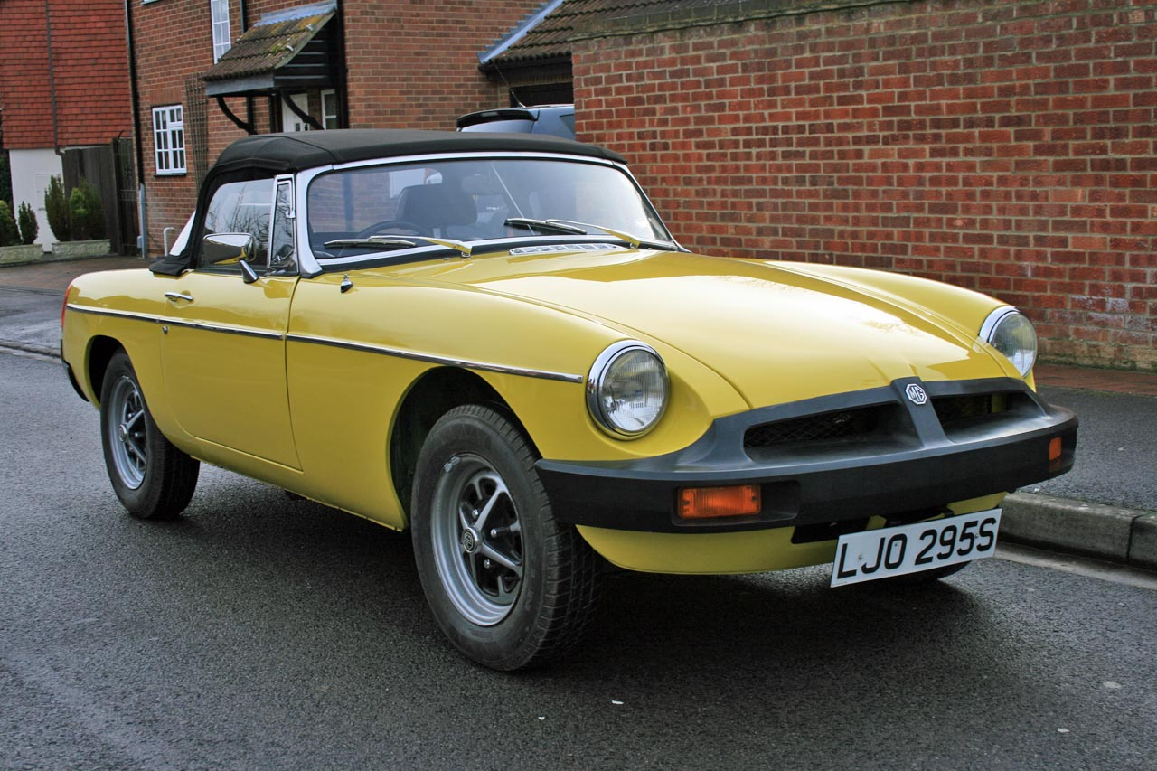 Restoration Account of a 1978 MGB Roadster: Part 1